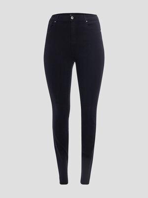 Jeans skinny grande taille noir femmegt