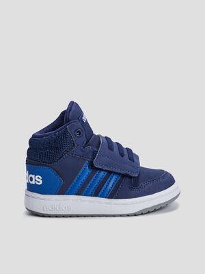 Baskets montantes Adidas bleu bebeg