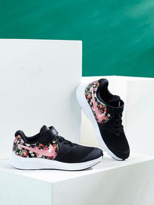Tennis imprimees Nike STAR RUNNER noir fille