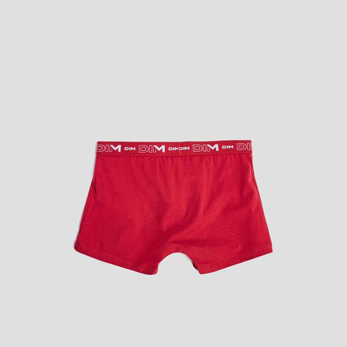 Lot 3 boxers DIM homme rouge