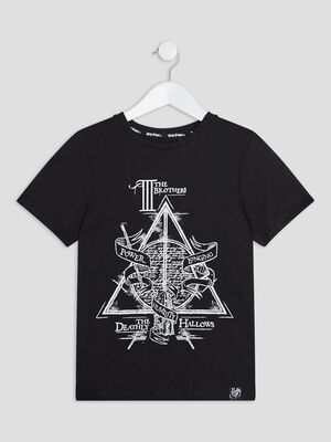 T shirt Harry Potter noir garcon