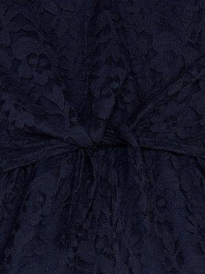 Combinaison salopette bleu marine fille
