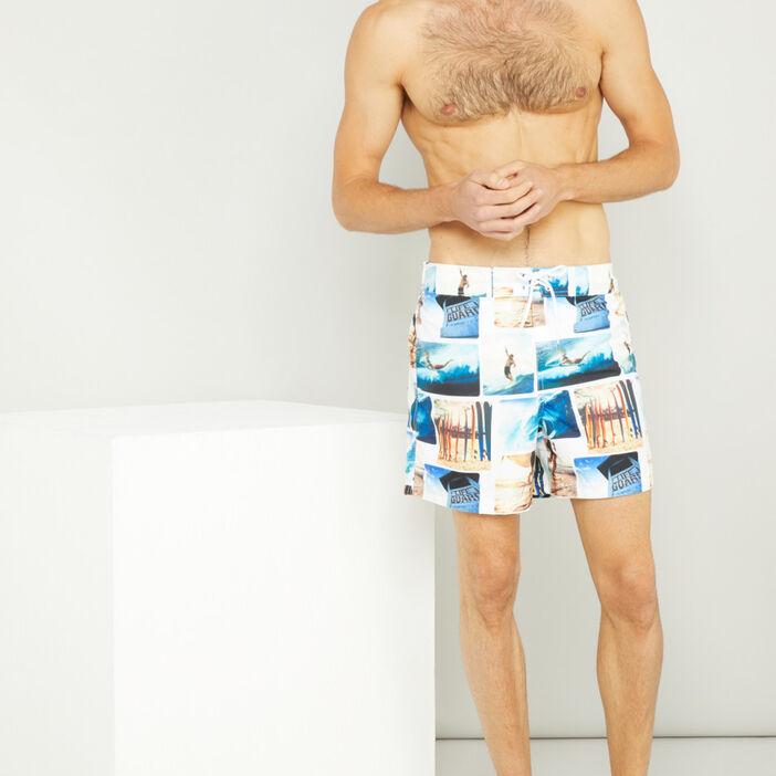 Maillot de bain homme multicolore