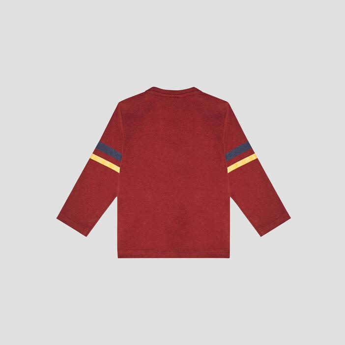 T-shirt Harry Potter bébé garçon bordeaux