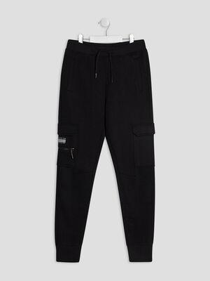 Pantalon jogging Liberto noir garcon