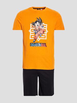 Ensemble pyjama Dragon Ball orange homme