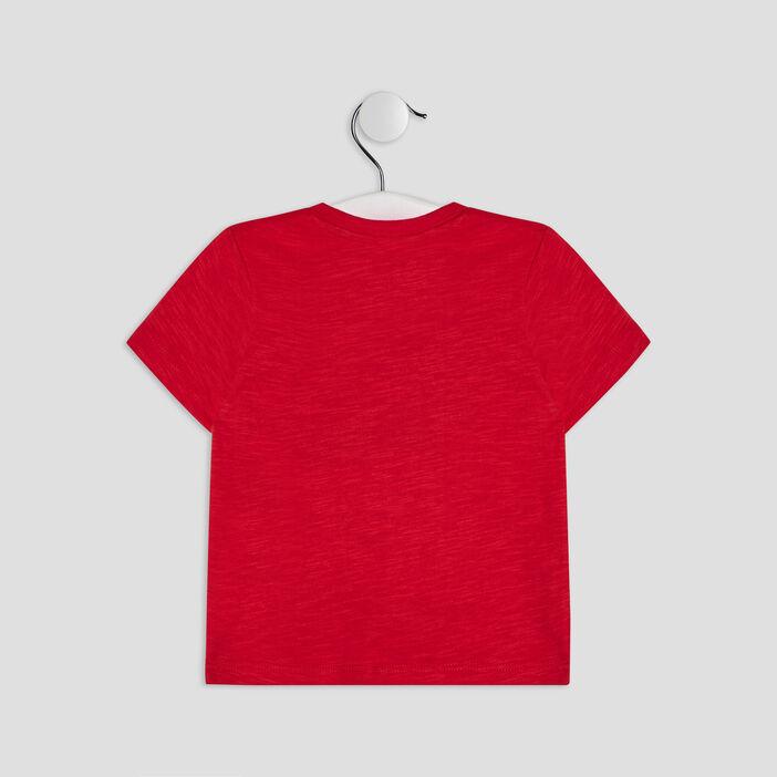 T-shirt manches courtes Creeks bébé garçon rouge