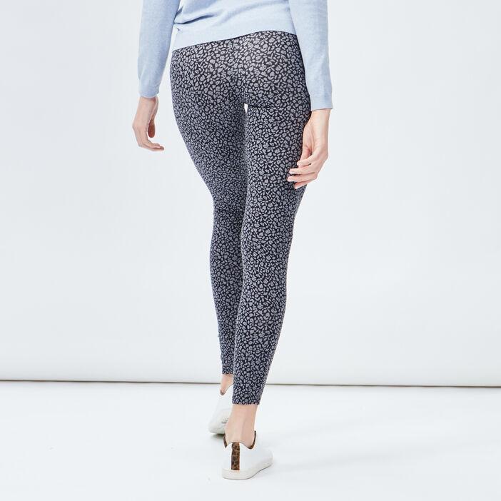Leggings femme gris foncé