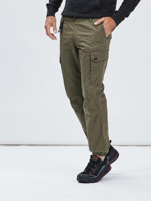 Pantalon jogging battle vert kaki homme