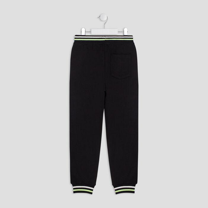 Pantalon jogging Les Minions garçon noir
