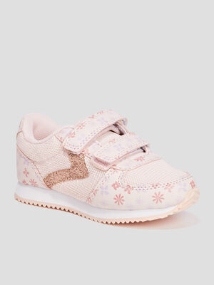 Retro runnings Creeks a scratchs rose pastel fille