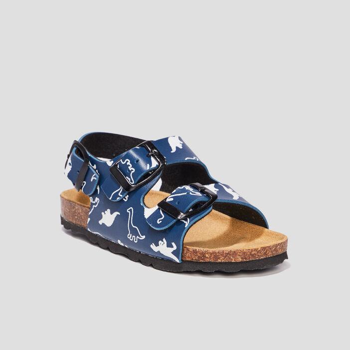 Sandales Trappeur garçon bleu