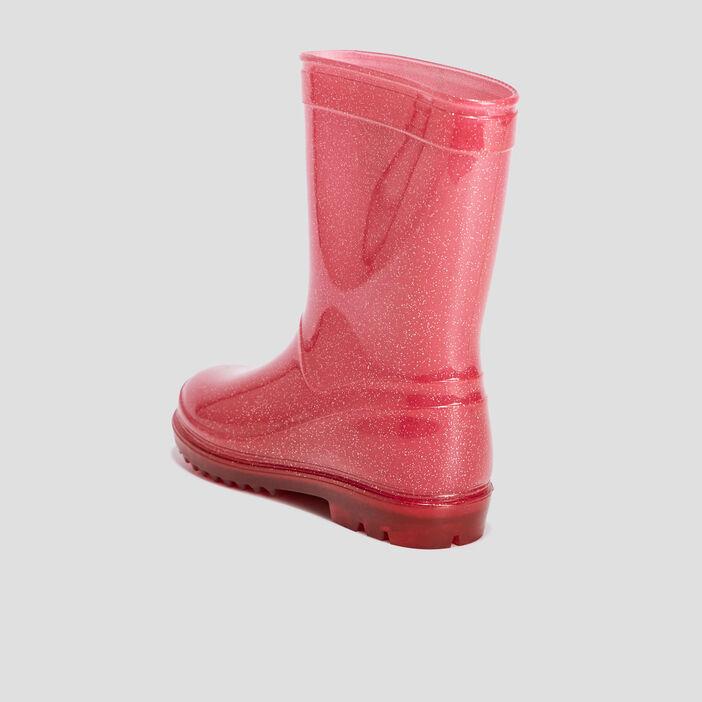 Bottes de pluie Minnie fille rose