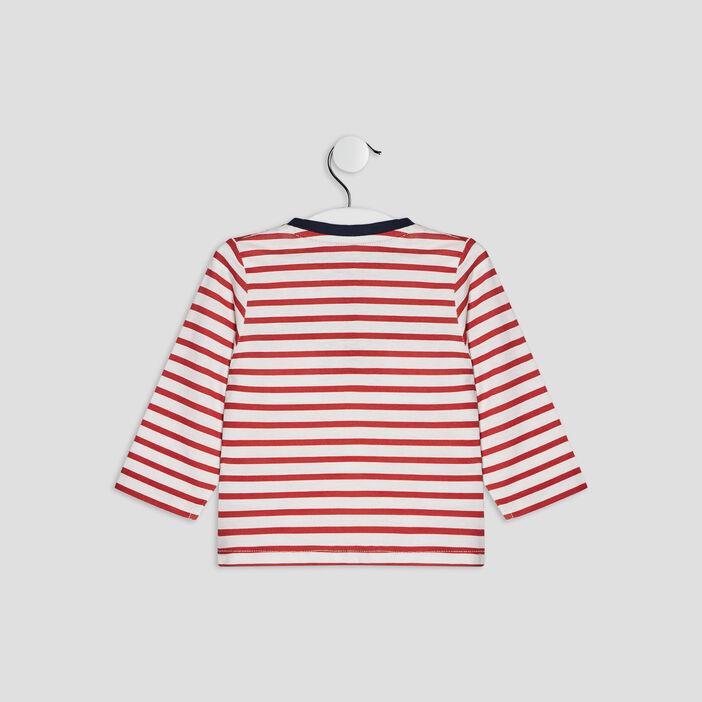 T-shirt Pat et Ripaton bébé garçon rouge