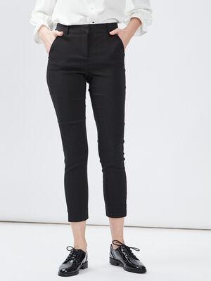 Pantalon ajuste multicolore femme