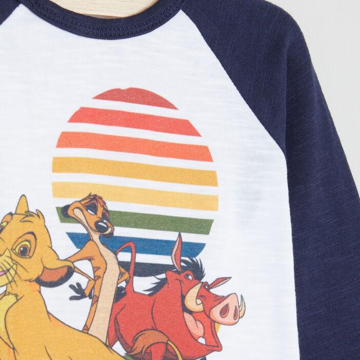 T-shirt Le Roi Lion bébé garçon multicolore