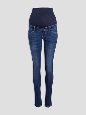 Jeans slim grossesse denim brut femme