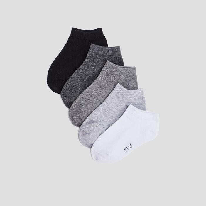 Chaussettes fille gris