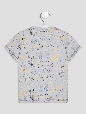 T shirt manches courtes Creeks gris bebeg