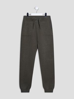 Pantalon jogging vert kaki fille
