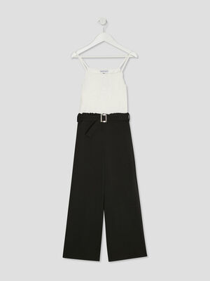 Combinaison pantalon Creeks noir fille