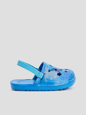 Sabots de plage bleu mixte