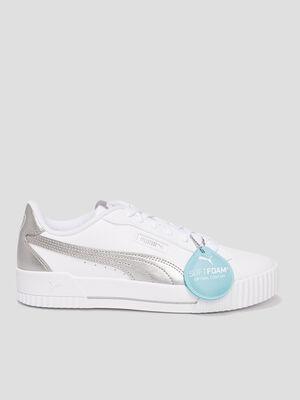 Tennis Puma blanc femme
