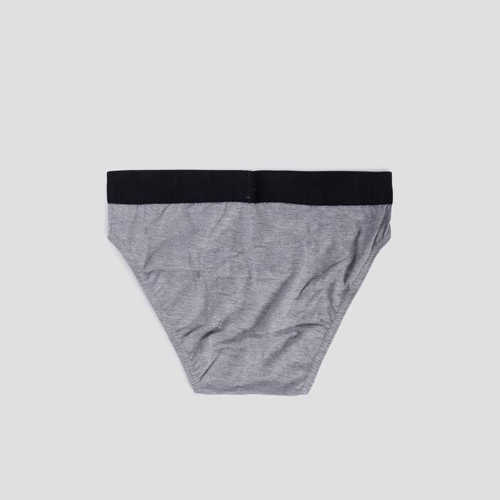 Lot 3 culottes Liberto homme gris