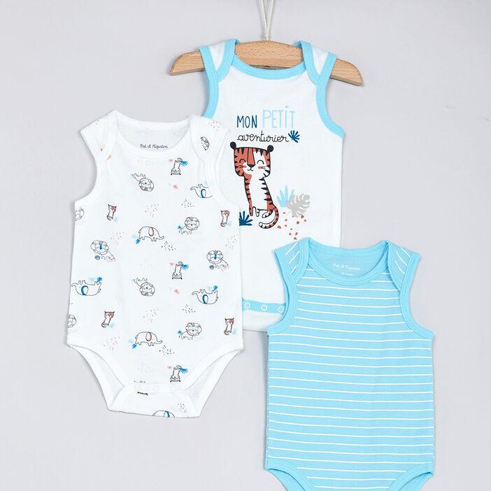 Sous-vêtement, Lingerie bébé bébé garçon bleu
