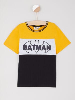 T shirt manches courtes Batman multicolore garcon