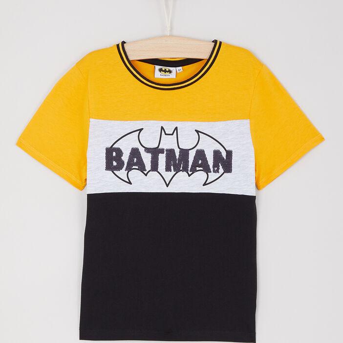 T-shirt manches courtes Batman garçon multicolore