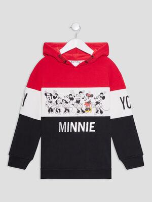 Sweat Minnie multicolore fille