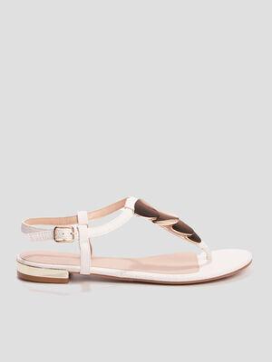 Sandales a entre doigts Creeks blanc femme