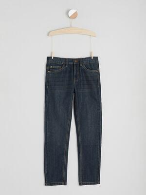 Jeans straight denim dirty garcon