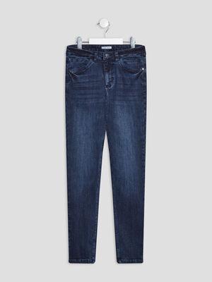 Jeans skinny Creeks denim blue black fille