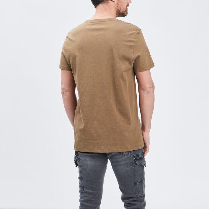 T-shirt manches courtes homme vert kaki