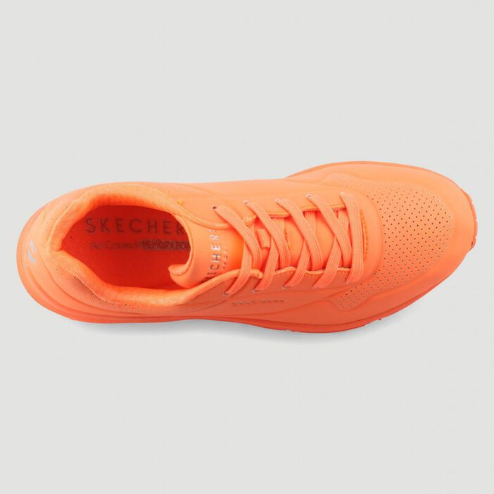 Runnings Skechers UNO NIGNT SHADES femme orange