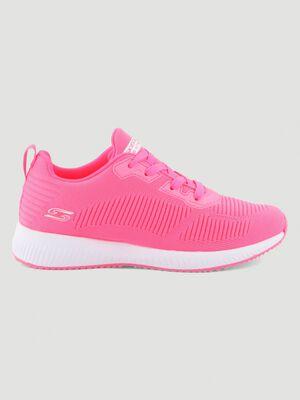 Runnings Skechers BOBS SQUAD rose femme