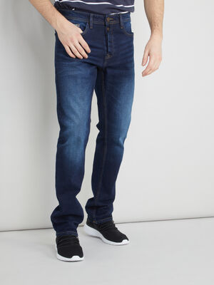 Jean denim double stone homme