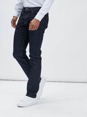 Jeans straight Creeks denim brut homme