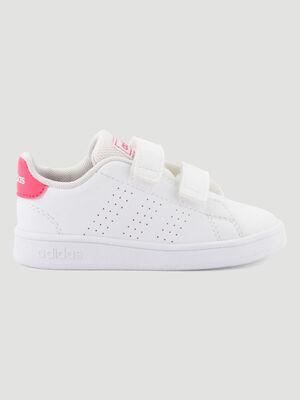 Tennis Adidas ADVANTAGE I blanc bebe