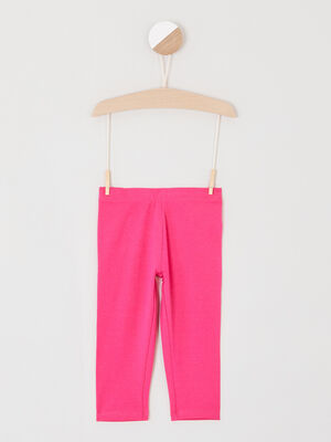Legging uni court rose fushia fille