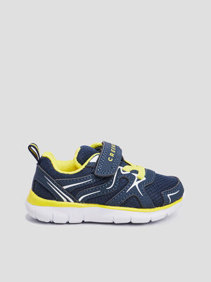 Baskets running Creeks bleu mixte