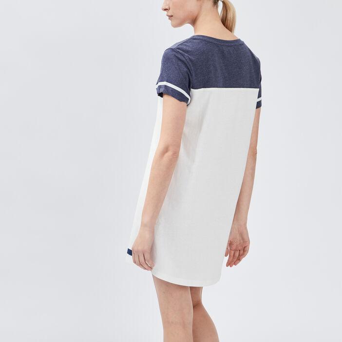 Chemise de nuit femme bleu