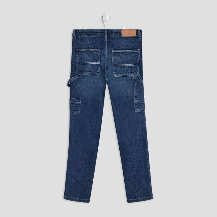 Jeans regular Creeks garçon denim stone