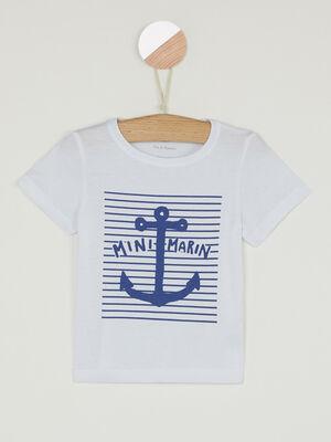 T shirt Pat et Ripaton blanc bebeg