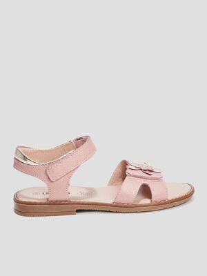 Sandales en cuir Liberto rose fille