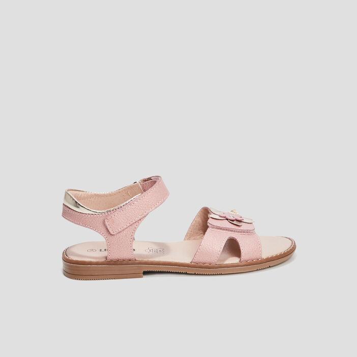 Sandales en cuir Liberto fille rose