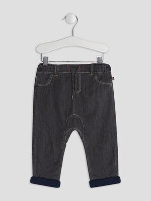 Jeans droit gris bebeg