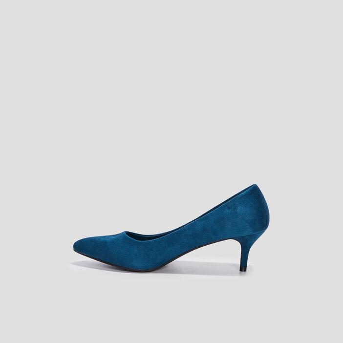 Escarpins à talons femme bleu